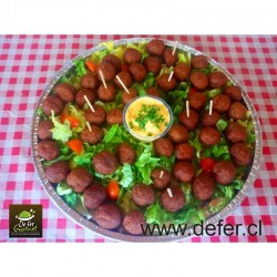 Tabla de Bolitas de Carne x50