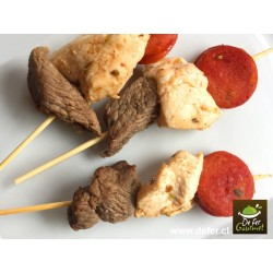 Brochetas mixtas x20