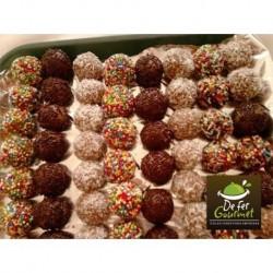 Minitrufas surtidas chocolatadas x25